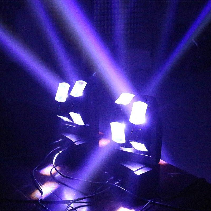 LED Hot Wheel Moving Head Light 8x10w RGBW 4in1 MS-MH810
