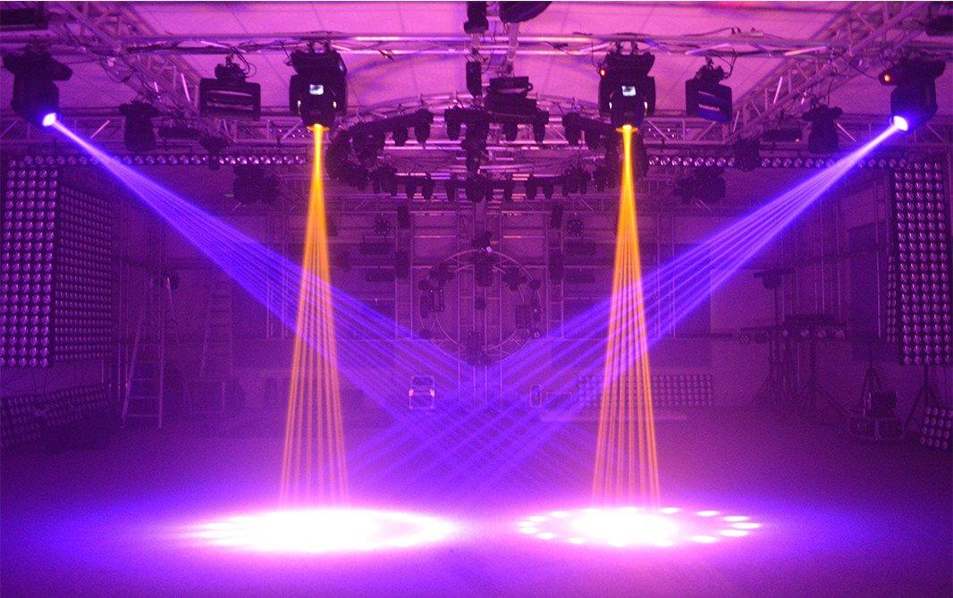 Marslite multi-color moving beam to decorative for indoor party