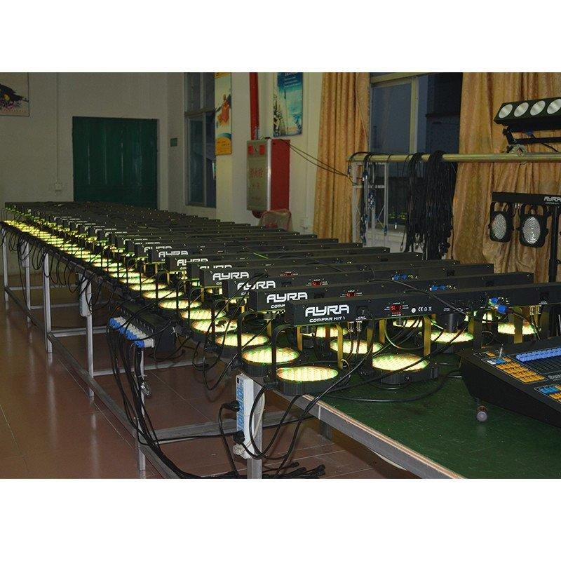 par can trendy 4in1 led par lights new company