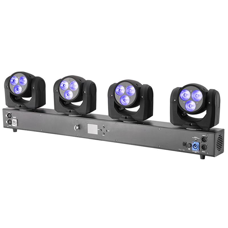 LED 10W RGBW Wash Moving Head Light MS-MPS4-03FC