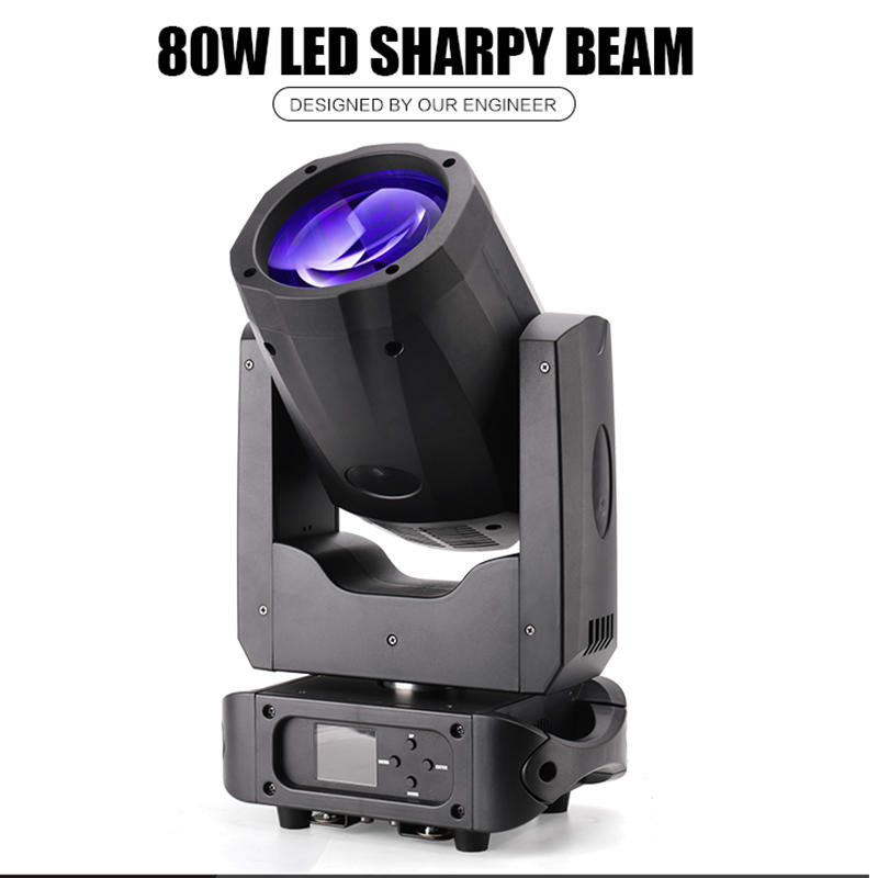 80W Sharpy Beam Moving Head Sopt DJ Light MS-B80