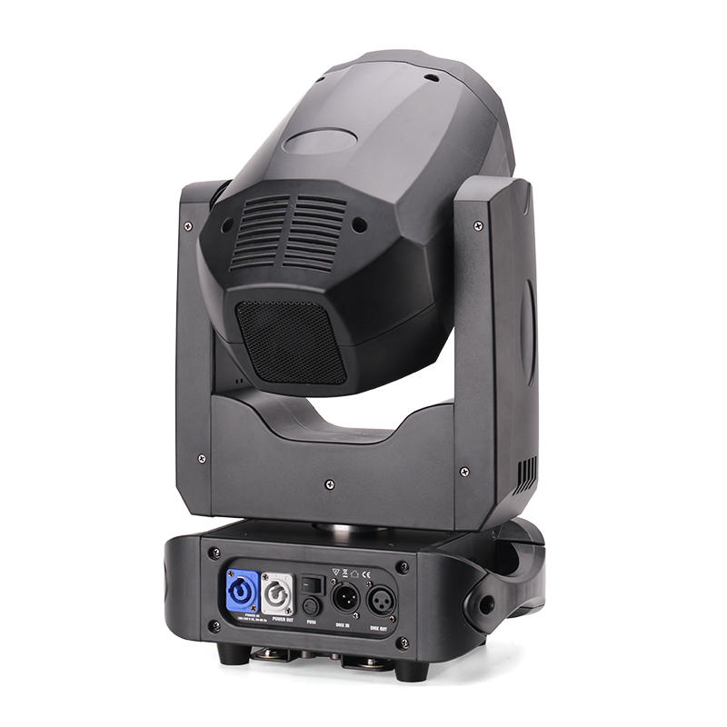 colorful led moving head beam light spot with different visual effects for indoor party