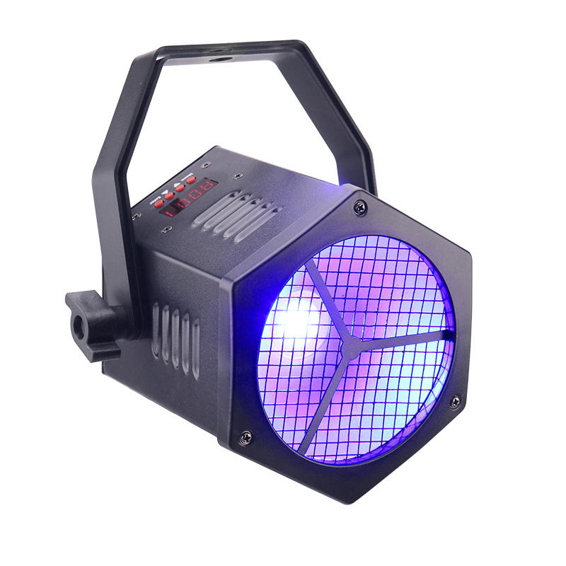 DMX512 40W RGBW COB Mini Par Light DJ Stage Lighting
