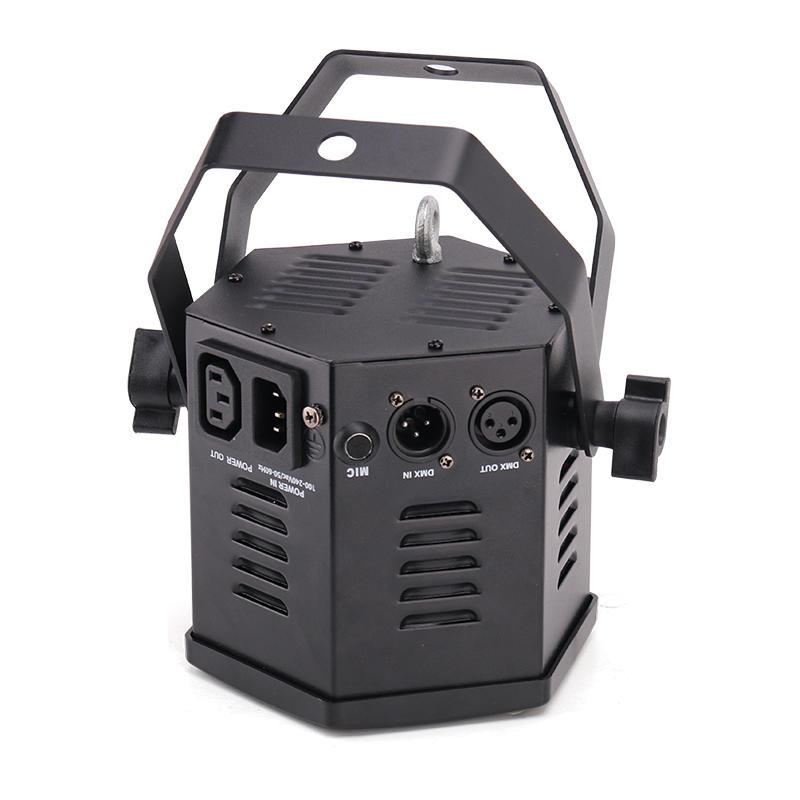 DMX512 40W RGBW COB Mini Par Light DJ Stage Lighting