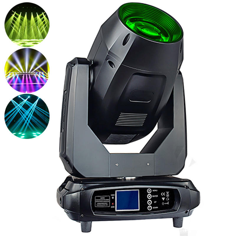17R 350W LED Moving Head Light 3IN1 Beam Spot Wash With Zoom Function MS-350