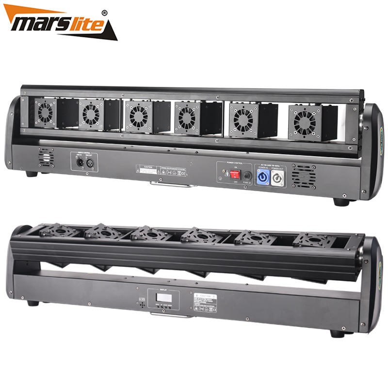 Marslite 6 Lens RGB Moving Beam Bar Laser Light MS-Y8-6000W