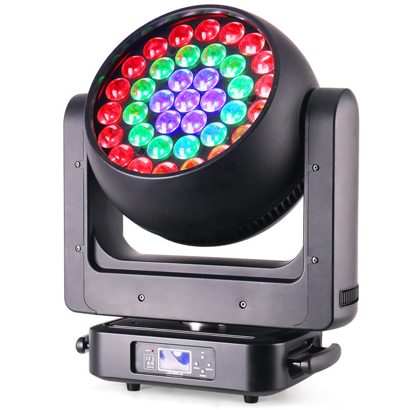 New 37x20W/25W RGBW Zoom LED Moving Head Light MS-3720