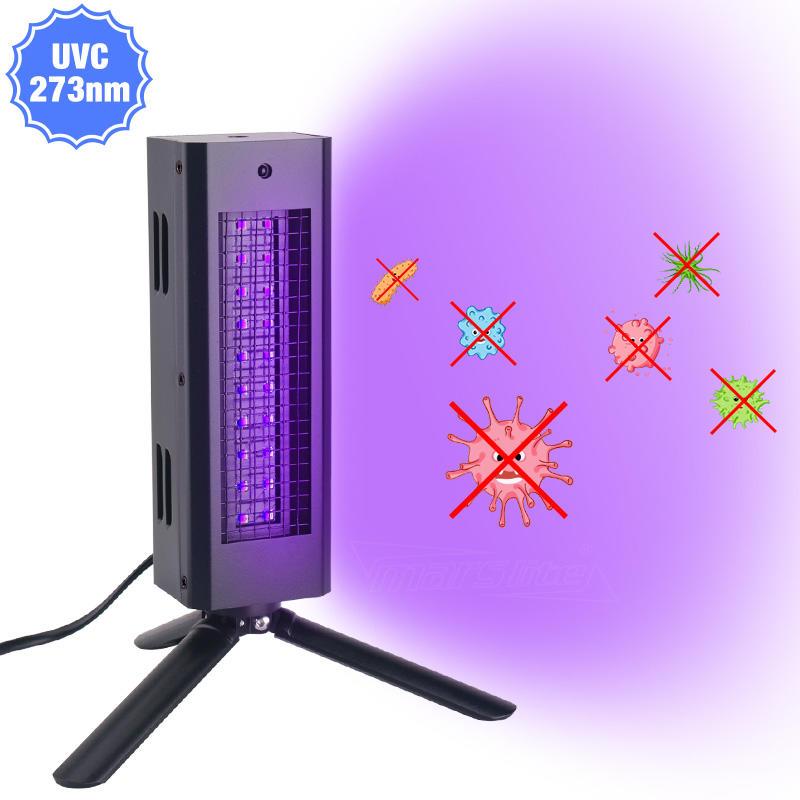 Air Disinfection UV Germicidal Light UVC LED Sterilizer Light Ultraviolet Lamp