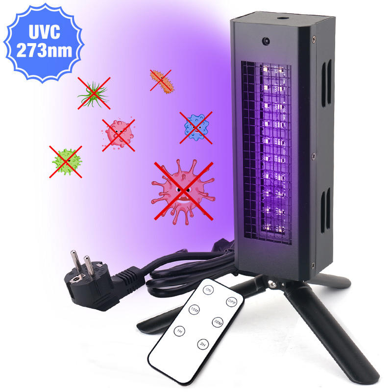 Air Disinfection UV Germicidal Light UVC LED Sterilizer Light Ultraviolet Lamp