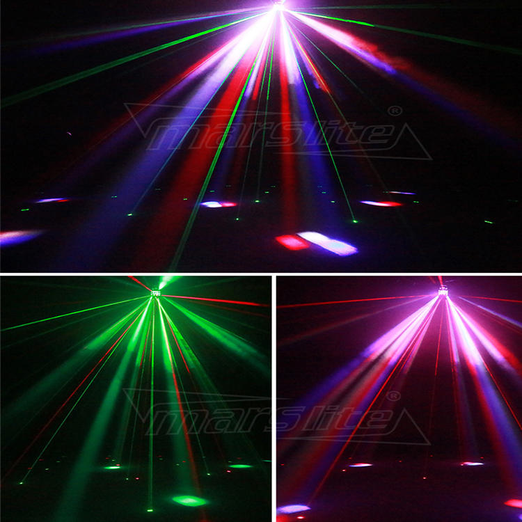 LED Derby Laser Strobe 3IN1 KTV Disco Party Light MS-C006