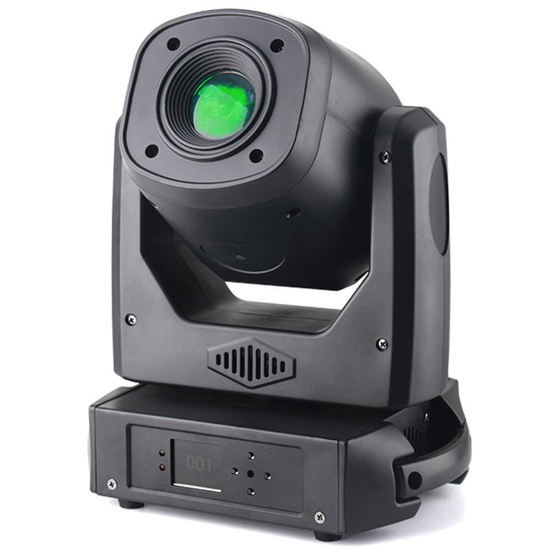 100W DMX Mini Gobo Projector Spot LED Moving Head Beam DJ Party Light MS-MG100B