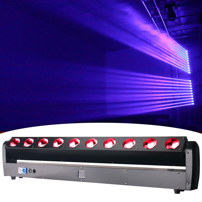 Professional Led Bar Light 10X40 RGBW Sharpy Moving Head Fat Beam DJ Lights MS-B10