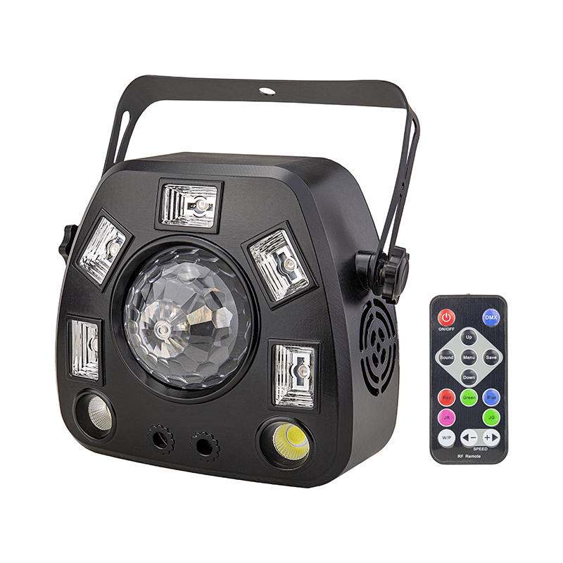 IR Control Party Decoration Strobe Laser UV Effect Stage Disco Magic Ball Light MS-C013