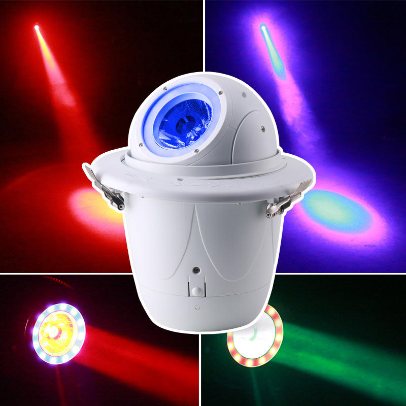 Embedded SMD Strobe LED RGBW Moving Head Beam Stage KTV Wedding Light MS-C018