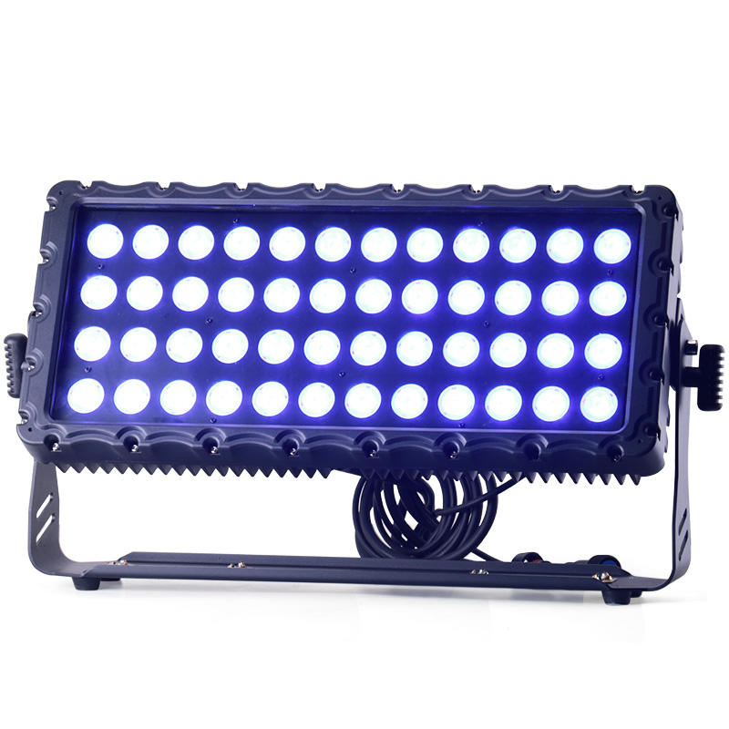 IP65 DMX Stage Wash Lighting Outdoor 48x10W RGBW 4IN1 City Color LED Wall Washer Light MS-WS48