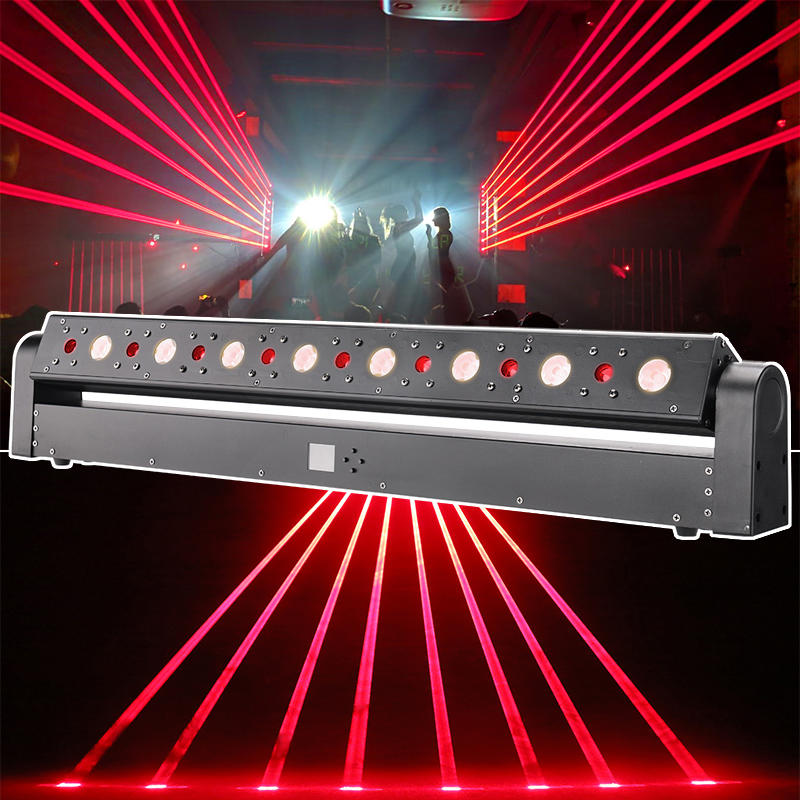 LED Laser Beam Bar Moving Head Wash Light MS-BL08