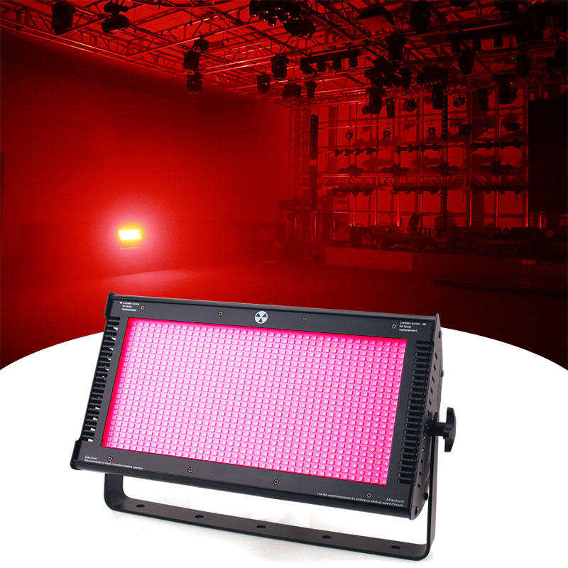 High Brightness 1000W RGB Full Color Atomic LED Strobe Light For Dj Stage Wedding Show MS-ST1000