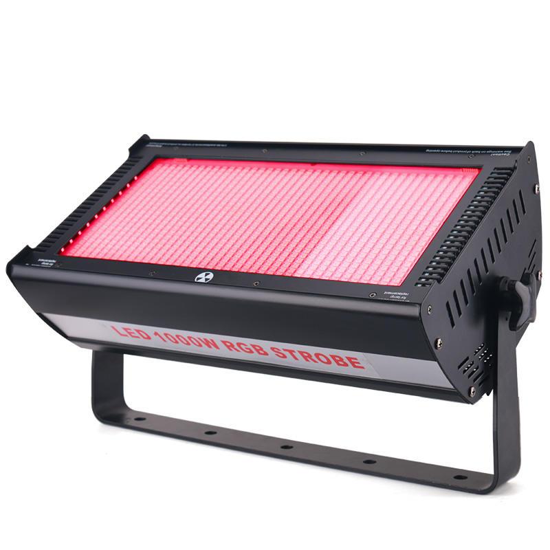 High Brightness 1000W RGB Full Color Atomic LED Strobe Light For Dj Stage Wedding Show MS-ST1000