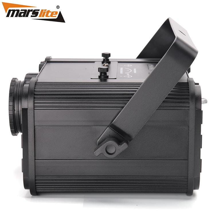 Customized 80W High Definition Advertising Gobo Projector Rotation Logo Light MS-LGP80