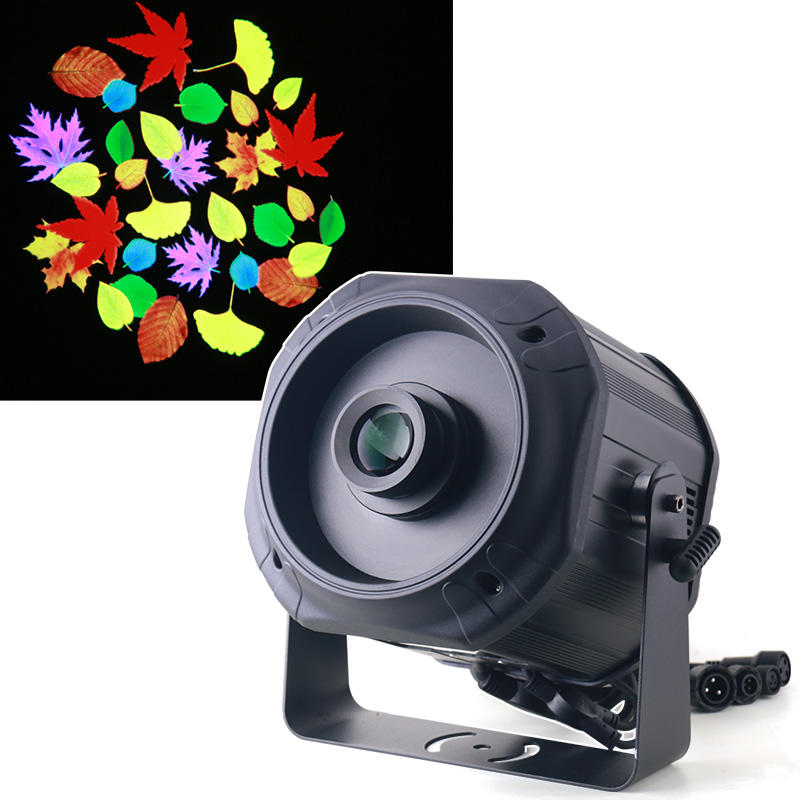 Waterproof IP65 200W Advertising Rotating Customized LED Gobo Logo Projector Light  MS-LGP200