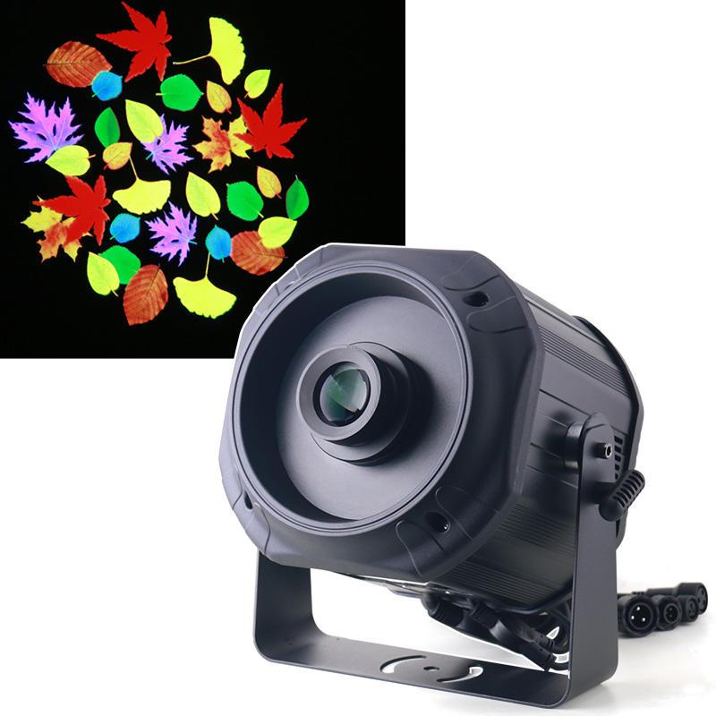 Waterproof IP65 200W Advertising Rotating Customized LED Gobo Logo Projector Light  MS-LGP200