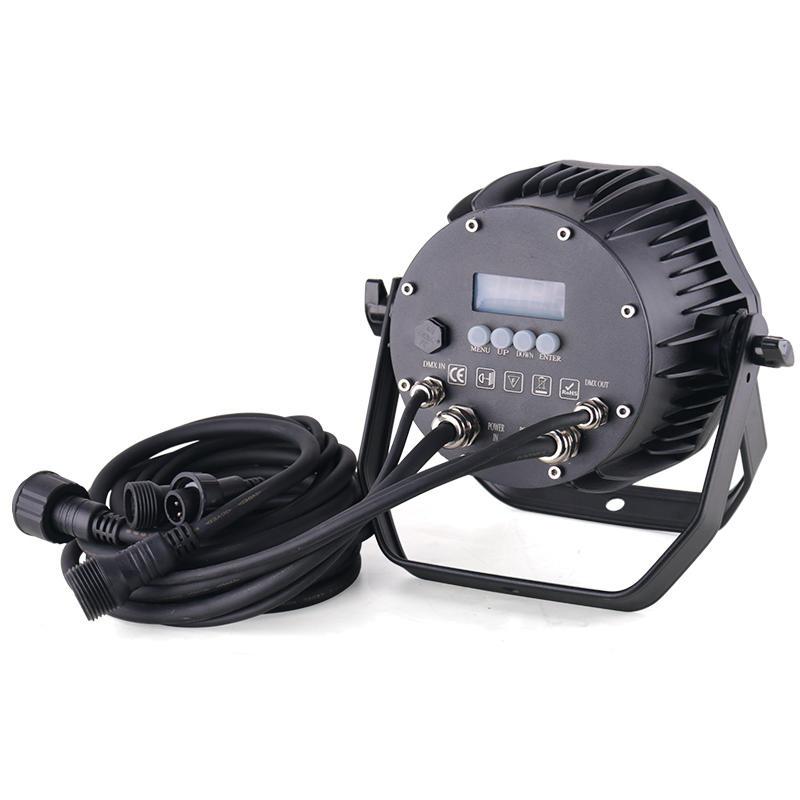 Professional DMX512 IP65 Mini 7X10W Colorful Waterproof Led Wash Par Light MS-BW70