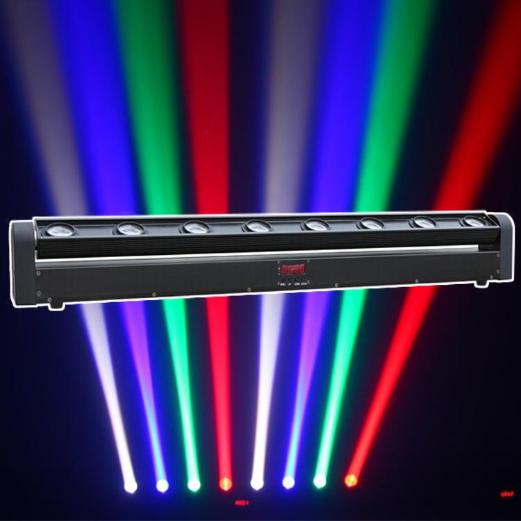 RGBW led moving beam bar light for stage lighting equipment MS-B8