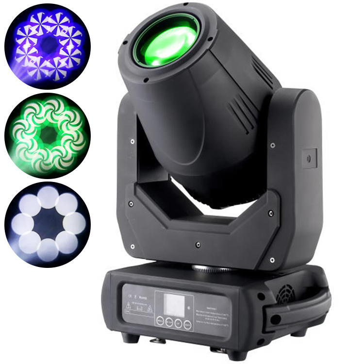 150W Moving Head Light Beam Spot Wash 3in1 With Zoom Function MS-BSZ150
