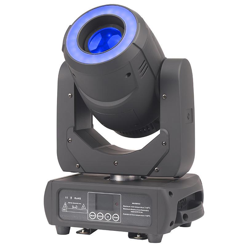 High Quality Disco Night Club 3 Prism Rotating 150W Spot LED Moving Head Gobo Light
