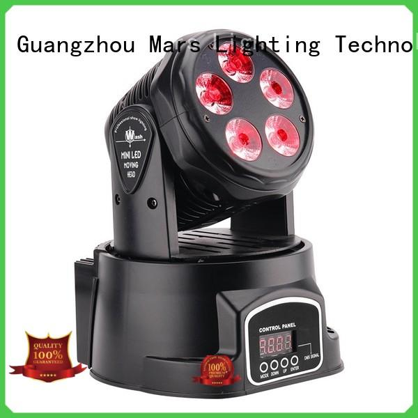 Marslite adjustable moving head laser light with the music, multi-color beam efects for bar