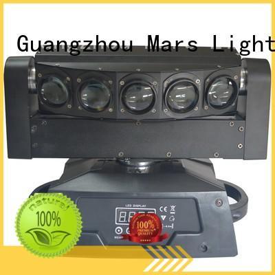 rotation high quality led moving head light rgbw marlite Marslite company