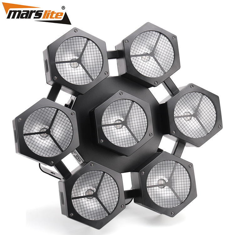 Multi-effect led stage spotlights cob easy to carry for KTV-2