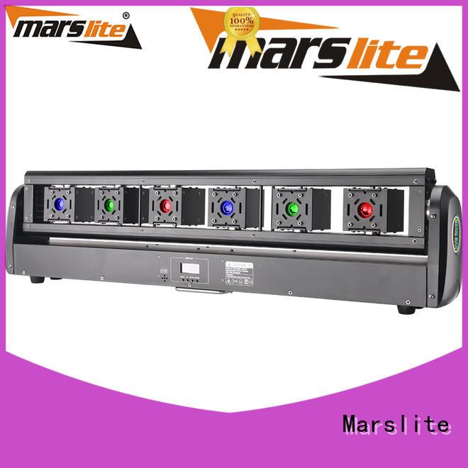 Marslite 6in1 moving spotlight easy install for disco