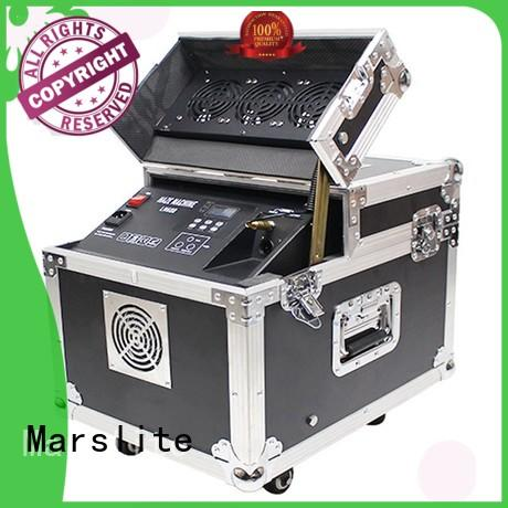 Marslite multi-color stage smoke machine with different visual effects for dj