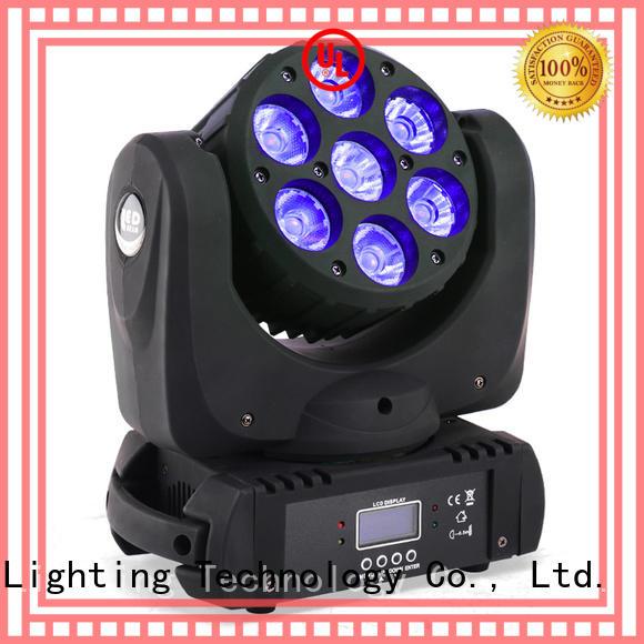 Custom 6pcs 10w led moving head light Marslite 6in1