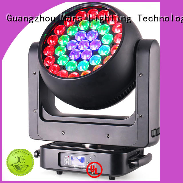 Marslite adjustable moving stage lights customized for club
