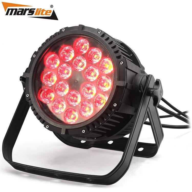 6IN1 LED Par Light Waterproof Led Par 64 MS-1818-1