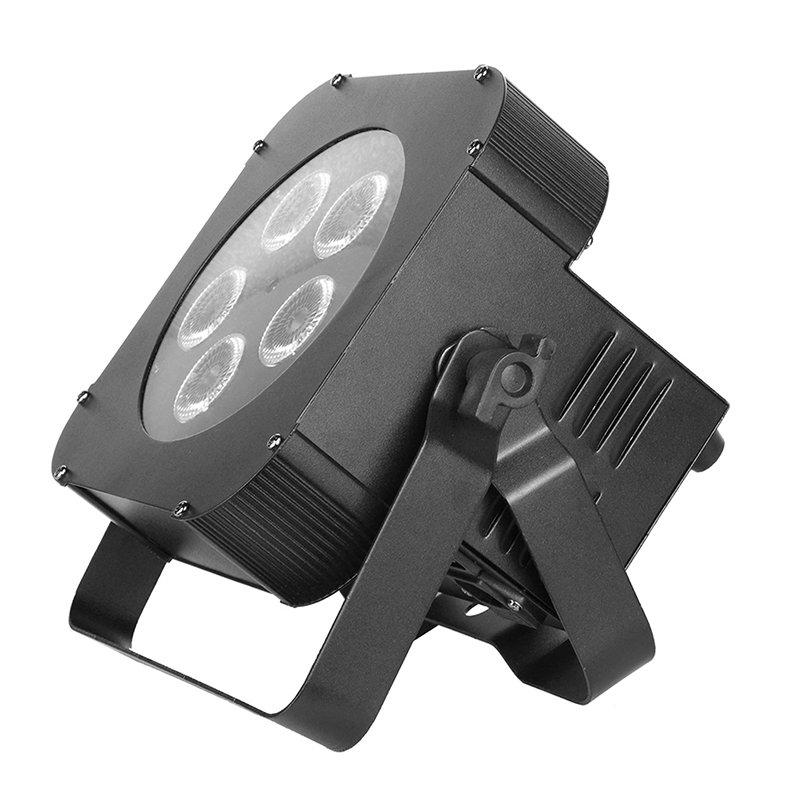 durable rgbw led par can rgbwuv with different visual effects for mobile DJs-1