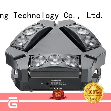 high quality led moving head disco light wheel manufacturer for club