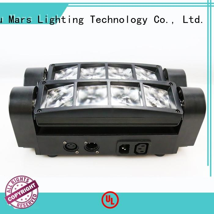 rotation moving led moving head light 4in1 Marslite Brand