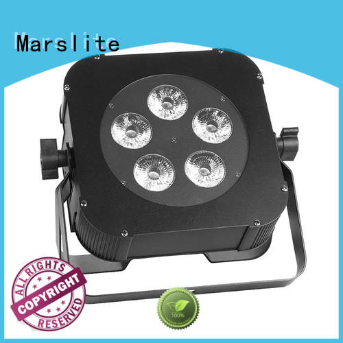 Marslite reliable rgbw led par can customized for parties
