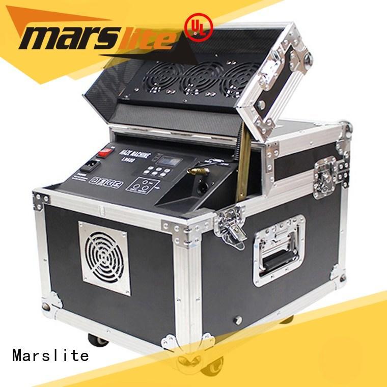 Marslite fog led smoke machine supplier for indoor party