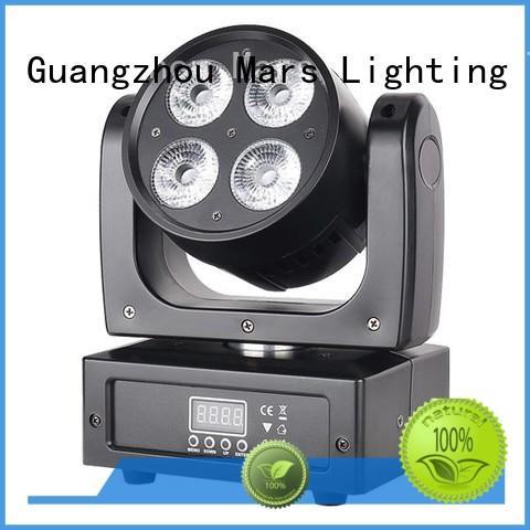 12w 6pcs led moving head light hot selling Marslite Brand
