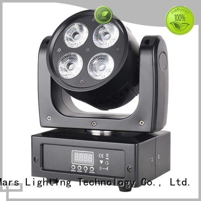 Marslite Brand rgbwauv 7pcs mini six led moving head light