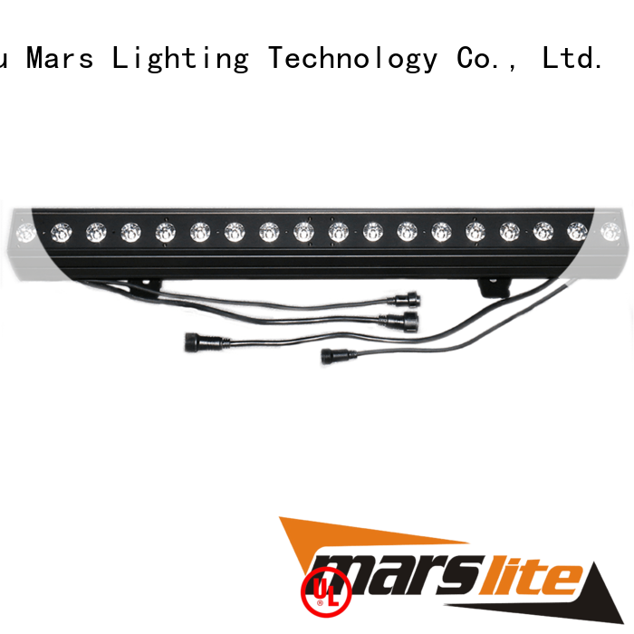 Marslite rgb wall washer led lights supplier for disco dance hall