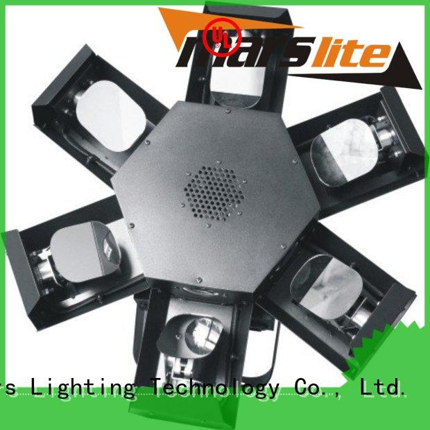 Marslite trinal dj lighting effects with different visual effects for disco