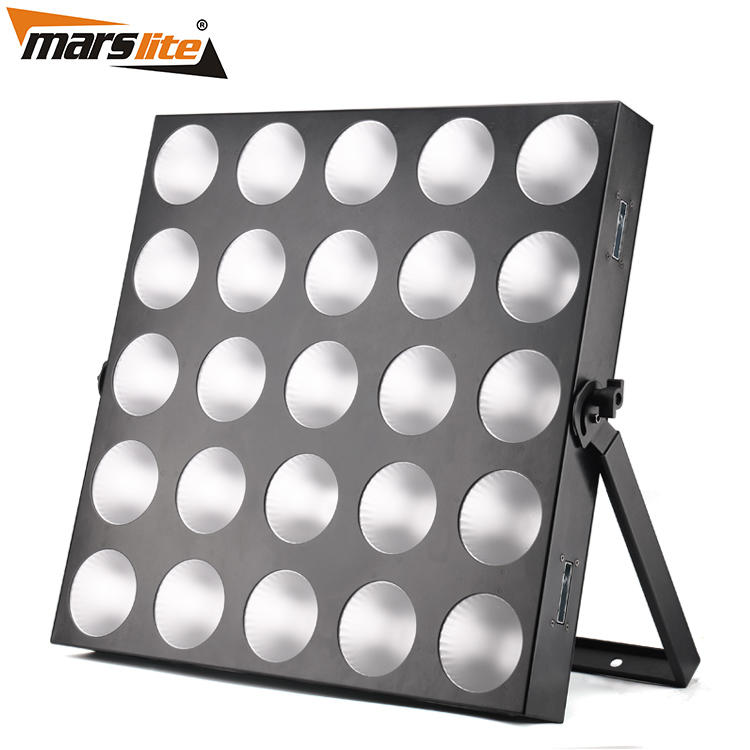 different blinder light white with RGBW tri-color COB LED for disco-1