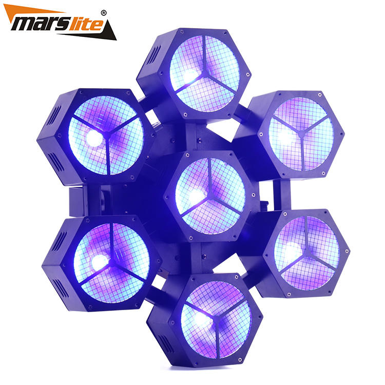 Multi-effect led stage spotlights cob easy to carry for KTV-1