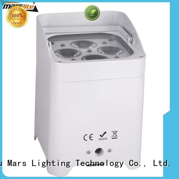 par can 5x18w 6in1 Warranty Marslite